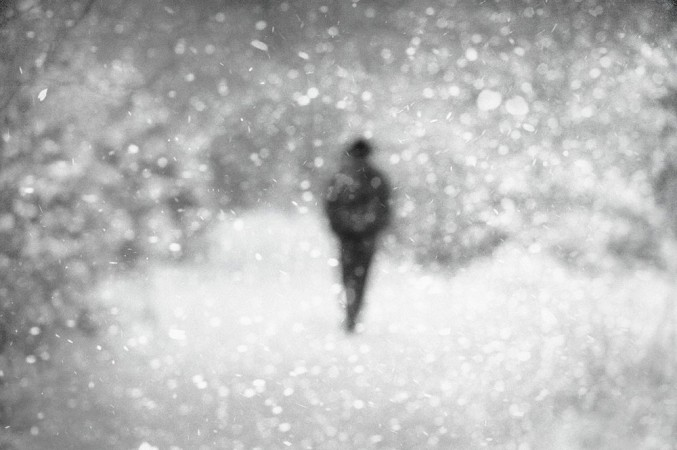Donata Wenders, In the Snow IX, Allgäu 2010