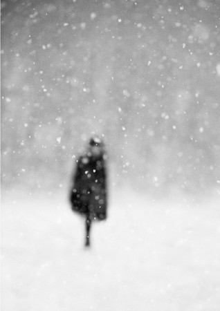 Donata Wenders, In the Snow VI, Allgäu 2010