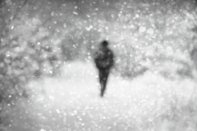 Donata Wenders, In the Snow IX, Allgäu 2010