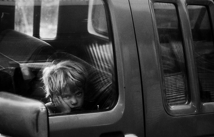 Donata Wenders, On Main Street, Butte 2001